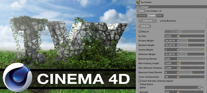 Ivy Grower Cinema4D Full Crack Download CLEAN!