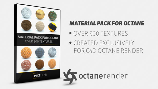Pixel Lab Material Pack for Octane Render - NullPk | Digital
