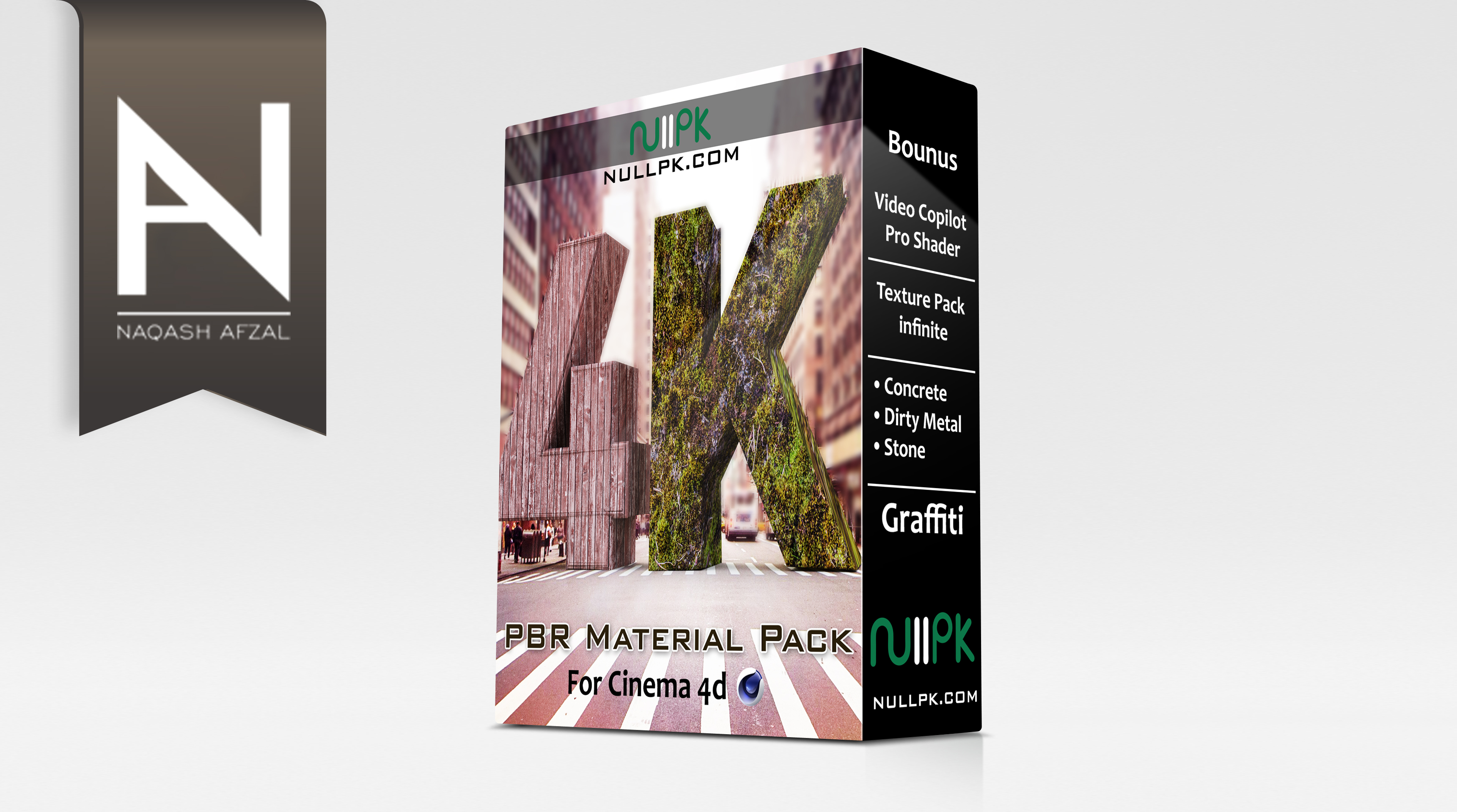4K Material Pack For Cinema 4d R15 to R20